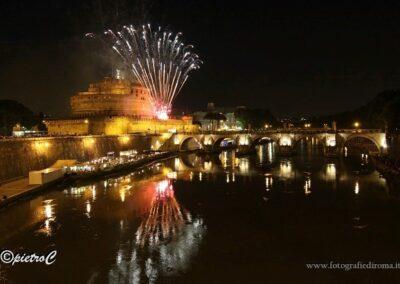Castel Sant'Angelo, fuochi artificiali 29 Giugno