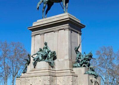 Statua a Garibaldi al Gianicolo